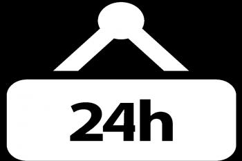 24h fekete